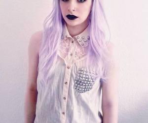hair, pastel, and grunge image