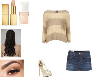 Polyvore, skirt, and 1d image