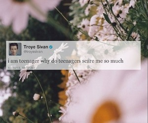 troye sivan, teenager, and tweet image