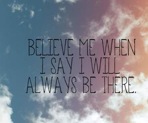 always, remember, and believe image
