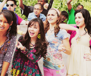 demi lovato, camp rock, and the final jam image