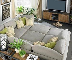 living room, sofa, and couch image