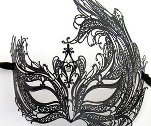 fashion, masked ball, and masquerade image