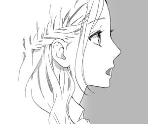 hirunaka no ryuusei, anime, and girl image