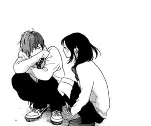 couple, japan, and manga image