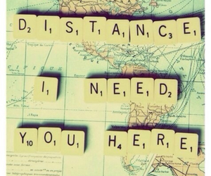 distance, love, and Relationship image