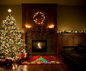 christmas, christmas tree, and holidays image