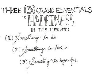 happiness, love, and hope image