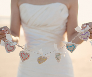 heart, dress, and love image