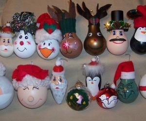 bubble, christmas, and diy image