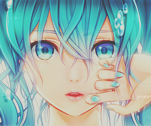 anime girl, yuppi edit, and hatsune miku image