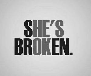 broken, he, and she image