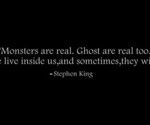 ghost, monster, and quote image