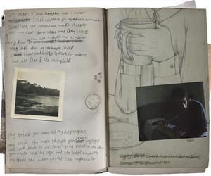 diary, indie, and vintage image
