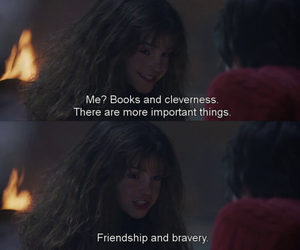 bravery, friendship, and harry potter image