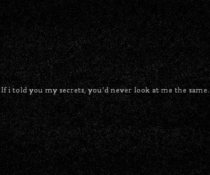 same, secrets, and don't judge image