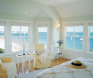 beach, cottage, and interior image