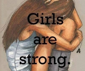 girl and strong image