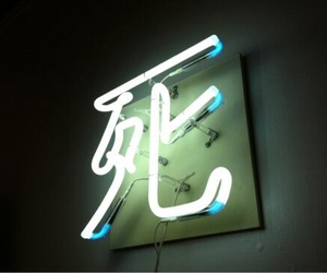 lights, neon sign, and nostalgia image