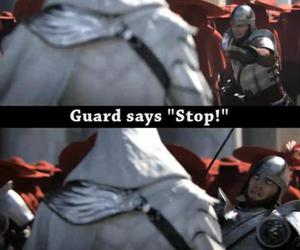 heart, Assassins Creed, and funny image
