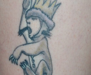 Tattoos and where the wild things are image