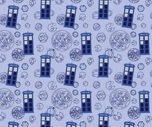 background, doctor who, and tardis image