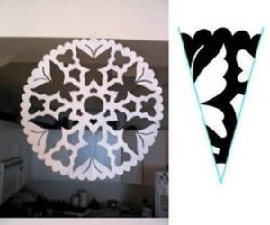 diy, snowflake, and christmas image