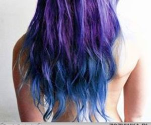 blue hair, color, and colorful image