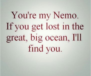 nemo, quote, and ocean image
