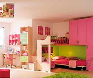 bedroom, cute, and cool image