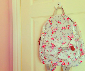 backpack, girly, and cute image