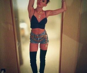 beauty, miley, and weed image
