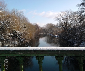 snow, winter, and water image