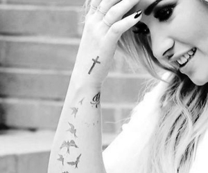 demi lovato, demi, and tattoo image
