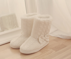 white, boots, and shoes image