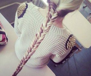 amazing, blond, and hair image