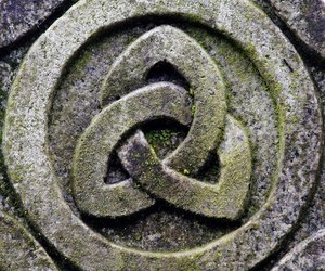 celtic, christian, and triquetra image