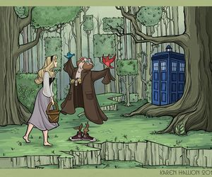 doctor who, aurora, and disney image