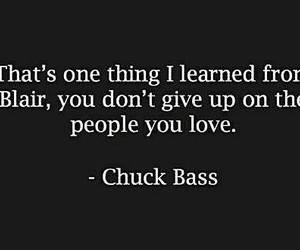 chuck bass, gossip girl, and love image