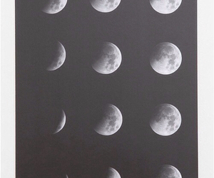 hipster, phases, and moon image