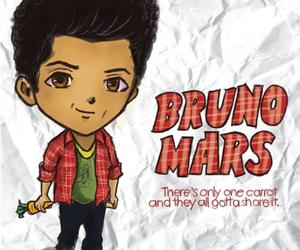 carrot and bruno mars image