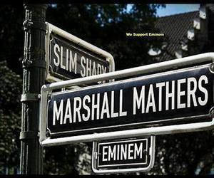 eminem, slim shady, and rap image