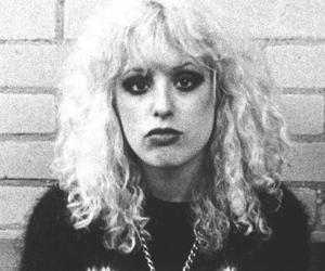 black and white, punk, and Nancy Spungen image