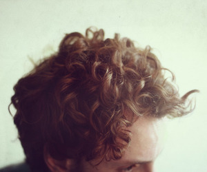 curly hair, guy, and handsome image