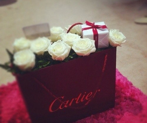 cartier, rose, and love image