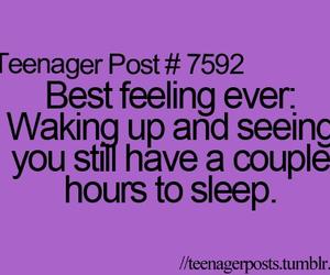 quote, sleep, and teenager post image