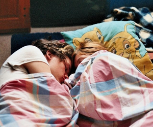 couple, Harry Styles, and sleep image
