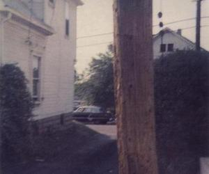 album cover, wires, and blurry image