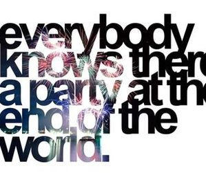 all time low, party, and Lyrics image