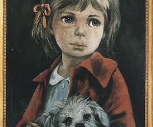 children, album cover, and big eyes image